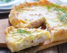 Quiche lorraine facile et légère au fromage frais 0%