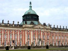 The Neues Palais, Potsdam, Germany