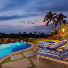 Good photos of a home highlight the lifestyle associated with that piece of real estate.  Here we see a magical poolside sunset.  Luxury Real Estate Photography by PanaViz  #panaviz #sunset #palmtree #photooftheday #picoftheday #travel #instahub  #hawaii  #ig_bestshots #ig_sharepoint #luxuryrealestate #resortphotography #ig_bestshots #luxuryhawaiirealestate #hawaiirealestatephotography  #luxuryhomes #luxuryhawaii  #luxurytravel #luxuryvacation  #followforfollow #hawaiilife #nature #aloha…