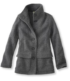 <p>Add polish and lightweight warmth to any outfit with this timeless jacket. Finely spun premium Italian wool is gently boiled, creating a dense, soft fabric that keeps its rich texture for years.     I have this coat in a pretty aqua, and I love,love,love it. ~jm~