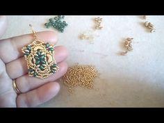 """DIY - Tutorial Ciondolo """"HAT"""" con rivoli 18 mm incastonatura Netted - YouTube"""
