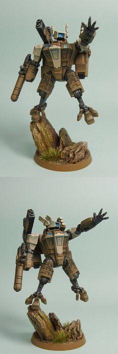 Battlesuit Commander