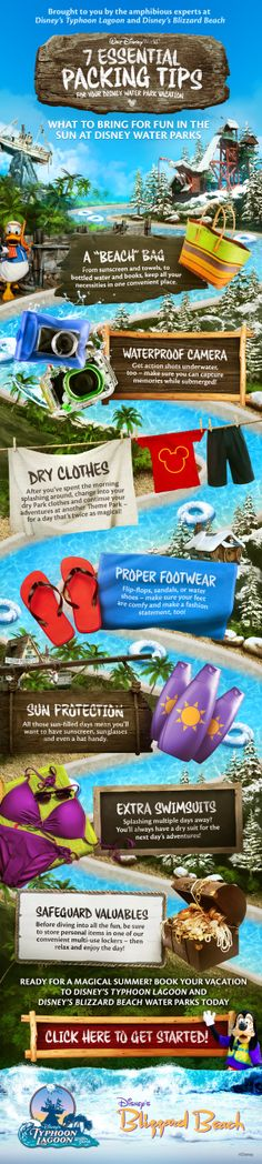 7 Essential Packing Tips for your Disney Water Park Vacation! 7 Essential Packing Tips for your Disney Water Park Vacation! The post 7 Essential Packing Tips for your Disney Water Park Vacation! appeared first on Summer Diy. Disney World Tips And Tricks, Disney Tips, Disney Fun, Disney Travel, Disney Cruise, Disney World Water Parks, Walt Disney World Vacations, Disney Parks, Disney Vacation Planning