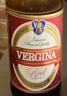 Vergina - Funny Greek Beer Name! | The Travel Tart Blog