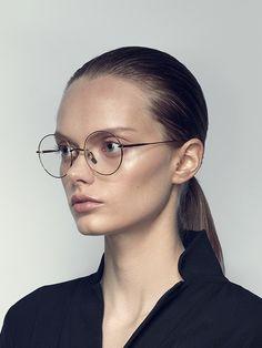 5a420fe3184 DITA Believer (-) Round Optical Glasses
