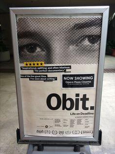 #OperaPlazaCinema #CinemAppeal #Obit #VanessaGould #MustSeeFilm #DocumentaryFilms