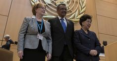 Ethiopia's Dr Tedros Adhanom Ghebreyesus Elected as First African DG of WHO       Dr Veronika Skvortsova, President of the World Health As...