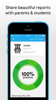 ClassDojo helps teachers improve behavior in their classrooms quickly and easily