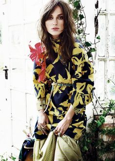 Keira Knightley for Glamour Magazine by Tom Monro, July 2014