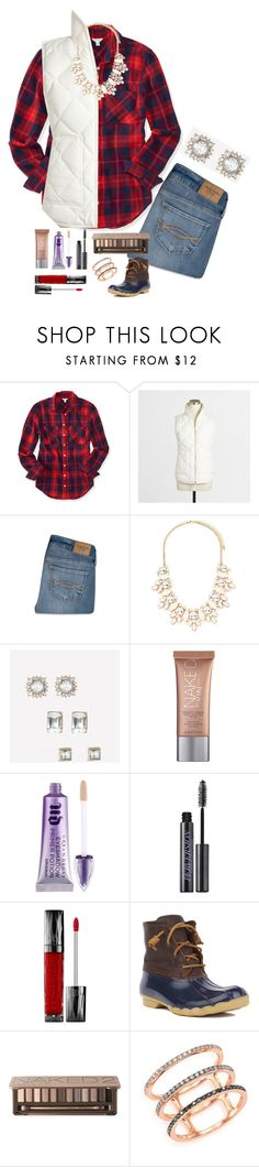 """Go Follow @rachmandz❣"" by preppy-southern-girl88 ❤ liked on Polyvore featuring Aéropostale, J.Crew, Abercrombie & Fitch, Forever 21, Bebe, Urban Decay, Sperry Top-Sider and EF Collection"