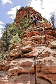 Angels Landing Zion Hike in Utah