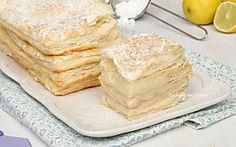 Mattonella cremosa al limone - Ricetta dolce delizioso