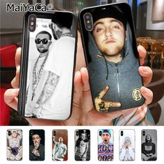 MaiYaCa Rapper Mac Miller Painted cover Colourful Style Design Cell Phone Case for iPhone X 6 7 8 5 case Mac Miller, Iphone 5s, Iphone 8 Plus, Musician Logo, Cell Phone Cases, Iphone Cases, Designer Caps, 5c Case, Mobile Covers