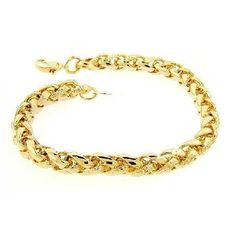 18 http://smb1.myshopify.com/products/18-braided-chain-necklace-in-14k-gold-overlay #necklace #necklace