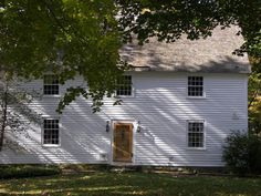 The Comfort Starr House, Guilford,Connecticut, c1645, front view as it looks today