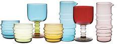 Socks Rolled Down!!! Marimekko's glassware collection... how better can it get? #Marimekko #glassware