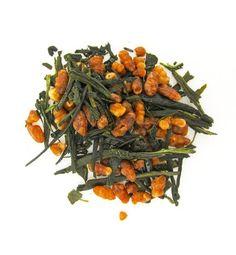 Organic Genmaicha Tea   Loose Leaf