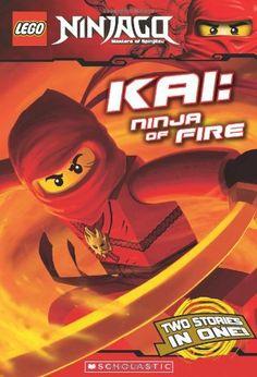 LEGO Ninjago Chapter Book: Kai, Ninja of Fire by Scholastic, http://www.amazon.com/dp/0545348277/ref=cm_sw_r_pi_dp_sltnqb1B7PSGE