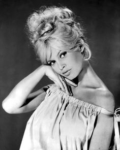 "Brigitte Bardot - She put the ""VA VA VOOM"" in French Babe Sex Kittens. In her heyday, she was something else. Men around the globe went wild over her!"