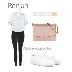 Korean Fashion Kpop Inspired Outfits, Korean Girl Fashion, Kpop Fashion Outfits, Korean Outfits, Cute Swag Outfits, Pretty Outfits, Casual Outfits, Teenager Outfits, Outfits For Teens