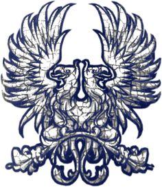 Dragon Age Origins' Grey warden commander insignia. ~Artists unknown