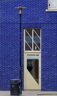 door in Bermondsey, London, England