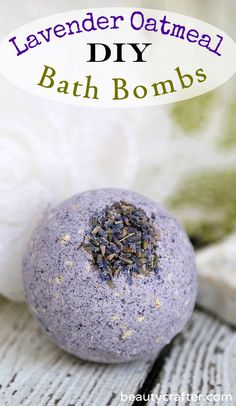 This Lavender Oatmeal Bath Bombs recipe makes skin & soul soothing fragrant bath bombs. Pairs well with my homemade Lavender Oatmeal Soap. Wine Bottle Crafts, Mason Jar Crafts, Mason Jar Diy, Diy Hanging Shelves, Floating Shelves Diy, Diy Home Decor Projects, Diy Projects To Try, Craft Projects, Bath Bomb Ingredients
