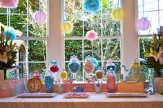 Colorful Alice in Wonderland Tea Birthday Party | Baby Lifestyles
