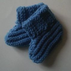 Royal Baby Booties | AllFreeKnitting.com