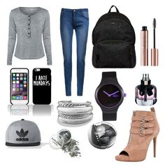 """For school!!❤️❤️❤️❤️💗💗"" by briana-maria-simon on Polyvore featuring interior, interiors, interior design, home, home decor, interior decorating, Tabitha Simmons, Hogan, Yves Saint Laurent and Lacoste"