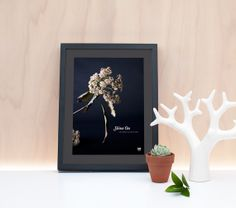 Botanical Photo Print and Quote by LightboxCreativeNZ on Etsy, $30.00