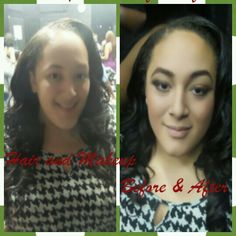 Hair and Makeup Before / After by Onyx Mobile Beauty Salon 210-789-2622 www.onyxmobilebeauty.com #beatface #beautyandthebeat #texasmua #onsitemakeup