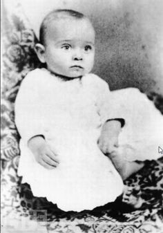 Harry S. Truman, 6 months old, 1884