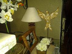 Divino para aparador, mesa, em pátina de demolição. Oficina Artesanal Pra Casa - Cláudia Andre
