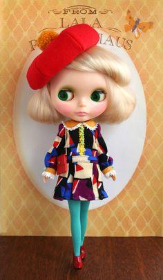 Cubism Girl Blythe
