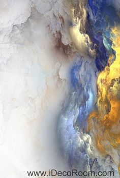 Abstract Clouds Smoke Pattern 00083 Ceiling Wall Mural Wall paper Decal Wall Art Print Decor Kids wallpaper