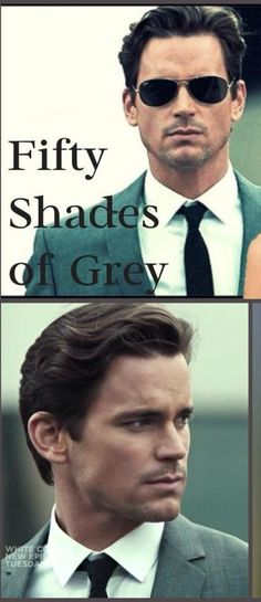 Christian Grey. Matt Bomer. It's a possibility....indeed. I still like a younger Julian McMahon...yum