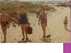 Duxbury, MA Beach in the 1950s