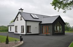 Dormer House Designs Ireland - strikingly ideas new house plans ireland 15 dormer house plans Dormer House Plans. Cottage Style House Plans, New House Plans, Cottage Homes, Brick Cottage, Cottage Exterior, Modern Bungalow Exterior, Modern Bungalow House Plans, Exterior Homes, Modern Cottage