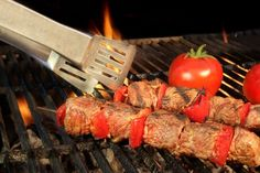 This BBQ Kabob recipe is delicious, healthy and perfect to celebrate the 4th this weekend!