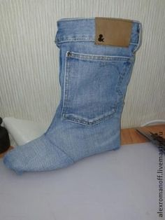 Ako urobiť topánky z džínsoviny - Spravodlivé Masters - ručné práce, ručné práce