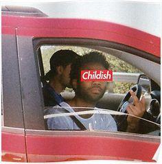 Childish Gambino - Childish [Logo] Posters