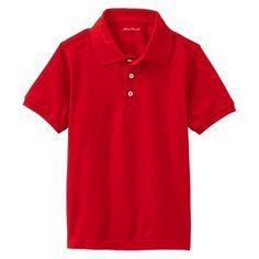 Eddie Bauer Boys' Polo Red 14-16, Boy's, Size: 14/16