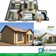 3 Bedroom Plan, First Choice, Pretoria, Tuscan Style, Affordable Housing, Colour Schemes, Mansions, Website, House Styles