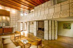 "Millard House ""La Miniatura"" | 1923 | Pasadena, California | Frank Lloyd Wright"