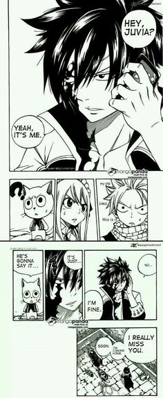 I love how natsu's love like 'my otp'.