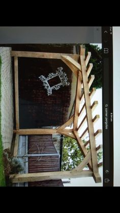 Timber pergola Www.reviveandsanitise.co.uk Timber Pergola, Garden Makeover