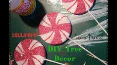 Christmas DIY - Lollipop Candy tree ornaments - YouTube