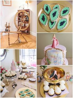 Maleficent Inspired Princess Aurora Birthday Party via Kara's Party Ideas KarasPartyIdeas.com #sleepingbeauty #maleficent #sleepingbeautyparty #princessaurora #princessauroraparty