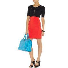 Karen Millen Faux Cardi Knit Dress K401R   http://www.luxuryindress.com/karen-millen-faux-cardi-knit-dress-k401r-p-9829.html